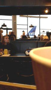 Kaffe på Kastrup